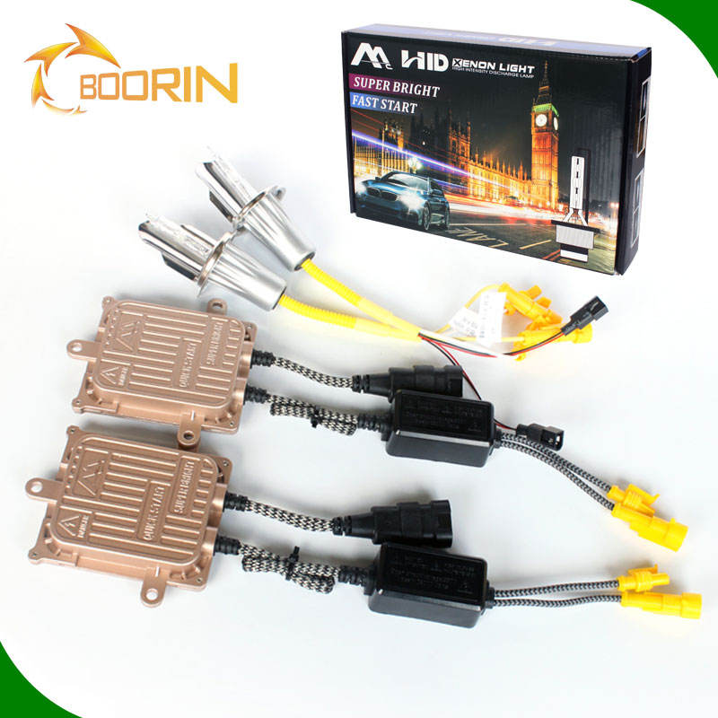 Low Price Xenon HID Kit AC/DC h4 h3 h7 Slim 12v 35w Canbus 55w 75w 100w HID light lamp 9004 auto xenon headlight 3000k 6000k