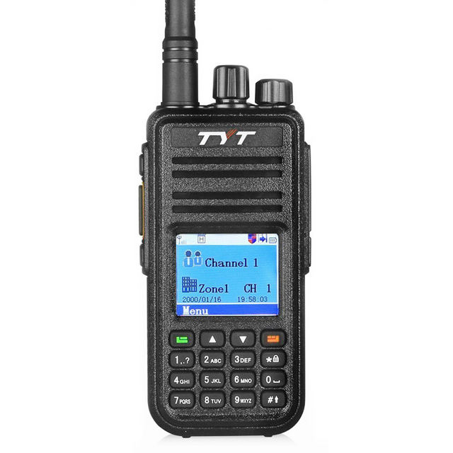 TYT MD-380 DMR Two Way Radio <span class=keywords><strong>UHF</strong></span> 400-480MHz <span class=keywords><strong>5W</strong></span> <span class=keywords><strong>Handheld</strong></span> Digitale Walkie Talkie 5KM