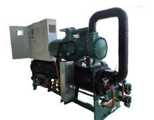 250kw Bitzer Screw Compressor  Water Cooled Chiller