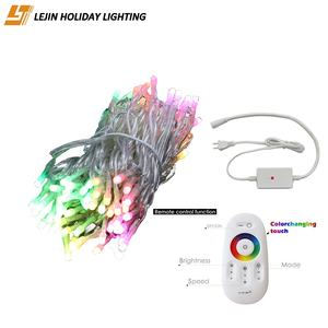 LJ 14W 10m colorful remote control led string light for party decoration