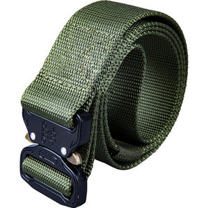 New version of Cobra tactical belt male multi-function army fan canvas outdoor commando training nylon belt