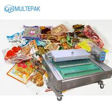 Maintain freshness/Leak-proof Continuous Transmission Belt/Roller type vacuum sealer packaging machine Malaysia coffee packaging