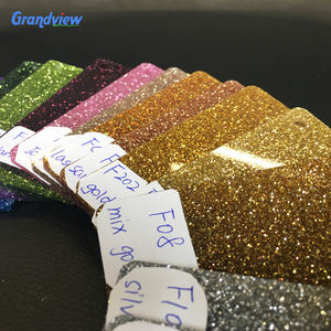 Factory sale glitter acrylic sheet colorful glitter acrylic board decorative glitter acrylic plate