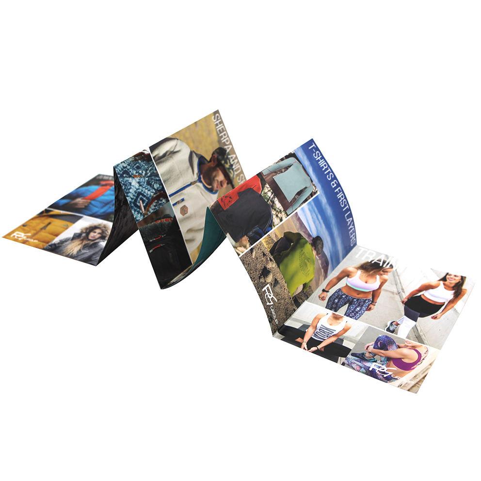 مخصص عالية الجودة بالألوان الكاملة كتيب مجلة مطوية النشرة كتيب صور مطبوعة