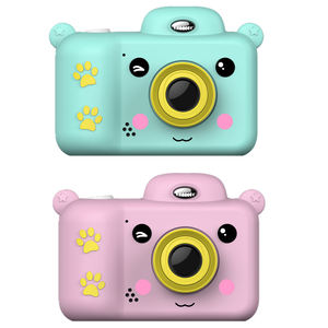 Birthday Gift Cute Photo 2.4 Inch Screen 1080P Hd Video Camera Kids Instant Print Camera