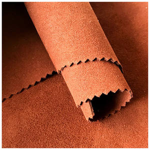 1.4 mm pu synthetic material microfiber suede leather for shoes making