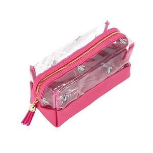 Transparent Cosmetic Travel Bag Clear Toiletry Makeup Zip Plastic Pouch PVC Case Cosmetic Bag
