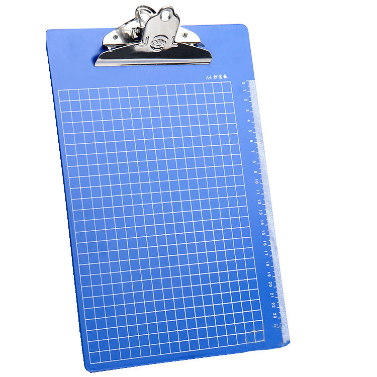 Office Supplies Plastic Folder Student Writing Board Folder A4 Papers Wordpad Writing Pad Folder Clip Board