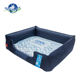 Factory design pet products dog summer cooling ice removable washable memory foam dog bed