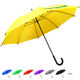 china wholesale made manual straight bargain cheap umbrella with logo prints