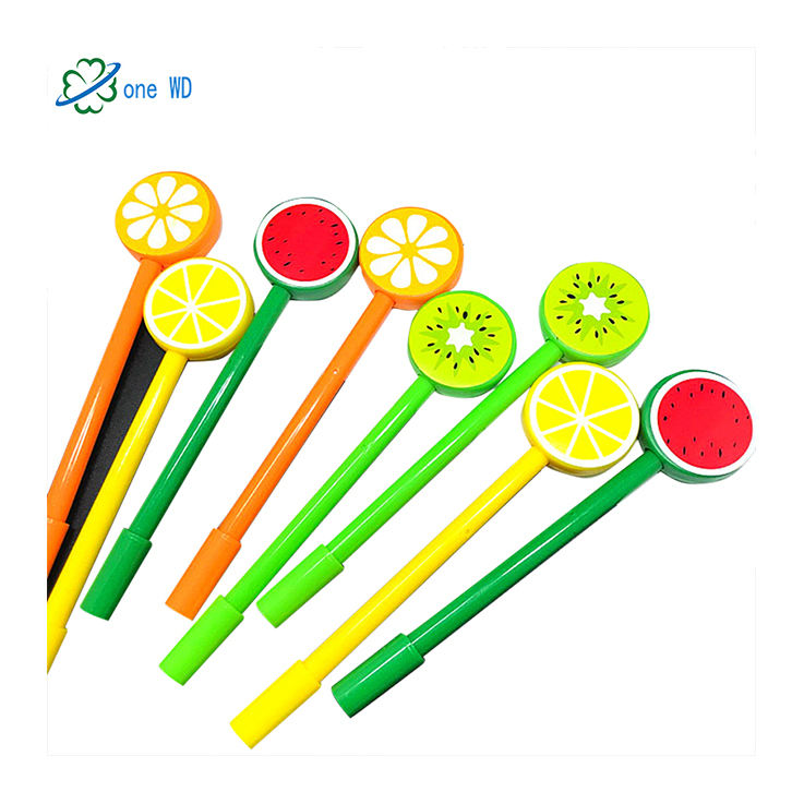 Promotional candy color creative personalized pen stationery student office supplies cute ball point pen