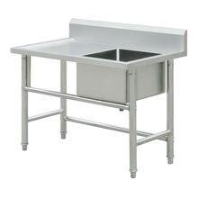 Restaurant 304 stainless steel material commercial kitchen sink