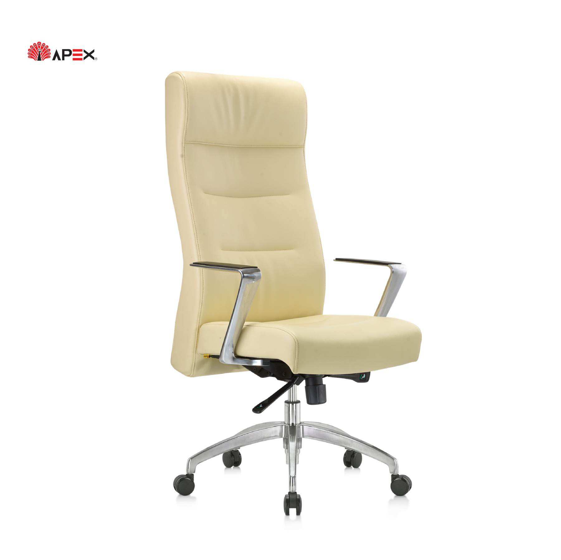 Apex Office Furniture Dibo Series High Quality Comfortable Rolling Genuine Leather Gaming Chair