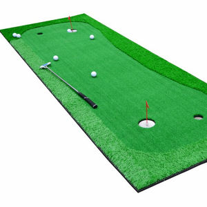 Atacado Mini Golf Putting Green Artificial Grama ao ar livre indoor golfe bater PP/PE Tapete de grama artificial