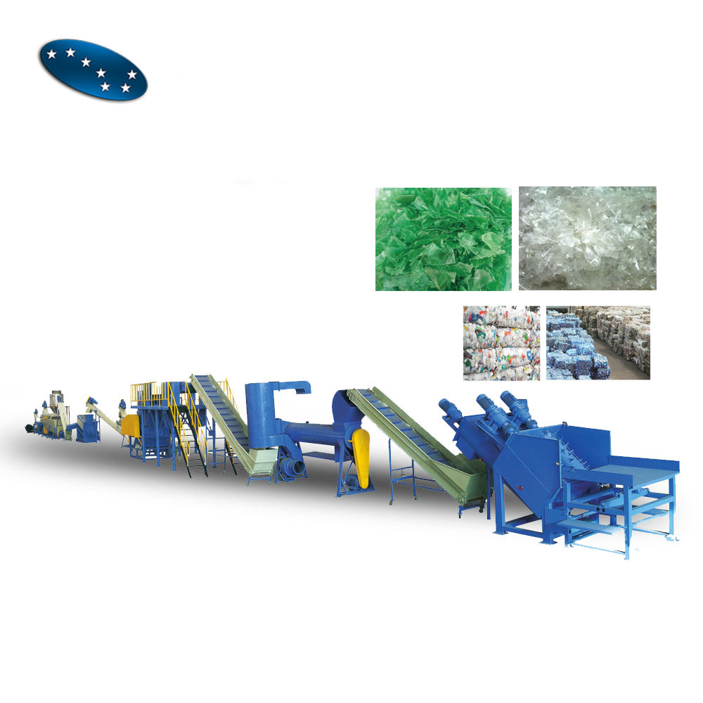 Lldpe Plastic Wasmachine/Plastic Film Recycle Machine