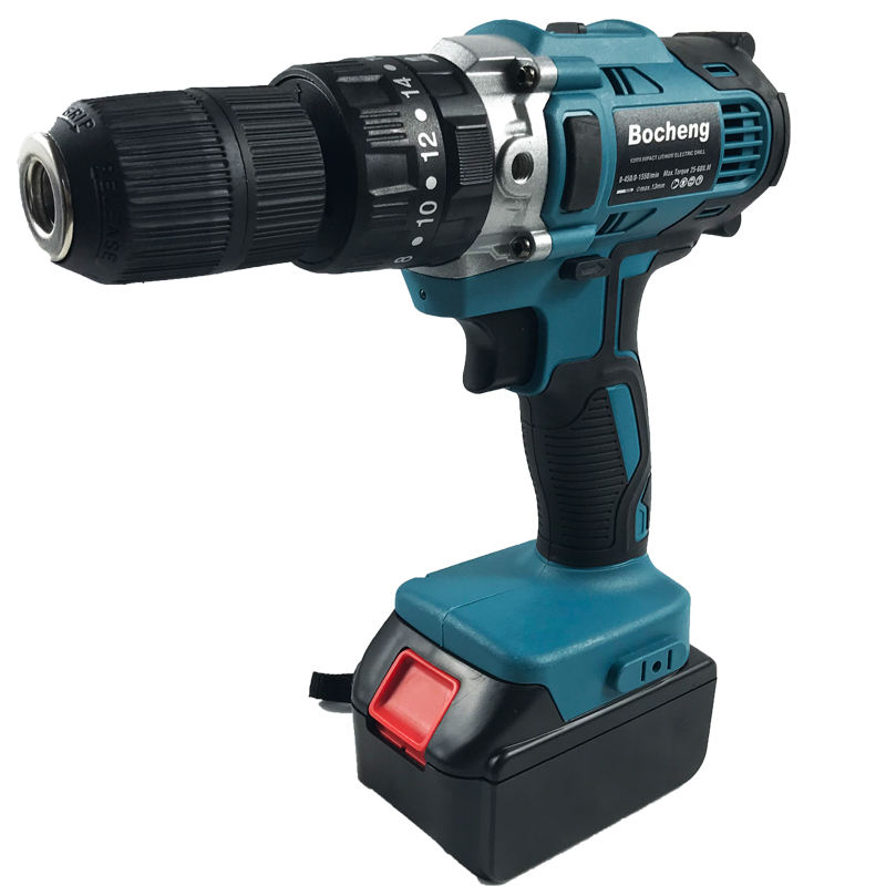 Professional Power Tools Cordless Electric Hammer Drill Adapted To Makita Battery