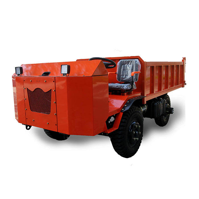 8T Popular Dump Truck UQ-5 Mine Dump Truck 2WD Mining Vehicle Best Quality Underground Mining Vehicles