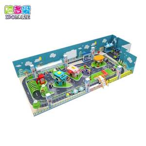 China Leverancier Cartoon Thema Indoor Speeltuin Plezier