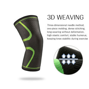 Elastic Athletics Knee Brace Compression Knee Sleeve Support for Running  Jogging  Sports Brace