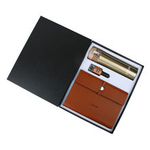 Hot sell luxury packaging bottle notebook Car charger Corporate Gift/gift item/gift set