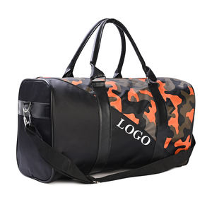 Manufacturers Supply duffle Personalized nylon duffle 600d Jungle Camo Fabric colorblock Large capacity Sport Travel Bag custom