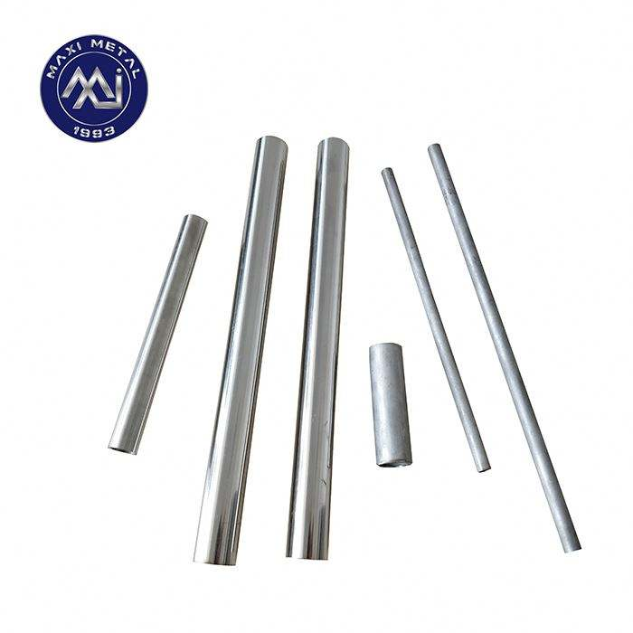 China factory manufactured threaded aluminum tube
