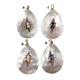 ly00287*Wholesale natural shell pendant and CZ charm fashion ladies jewelry oval shell pendant