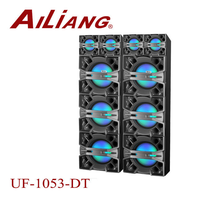 Ailiang UF-1053-DT Profissional 2.0 orador fase ativa