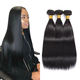 24-32 Inch Long Raw Indian Hair Brazilian Straight Hair Virgin Cuticle Aligned Human Hair Bundles Peruvian Malaysian Apple Girl