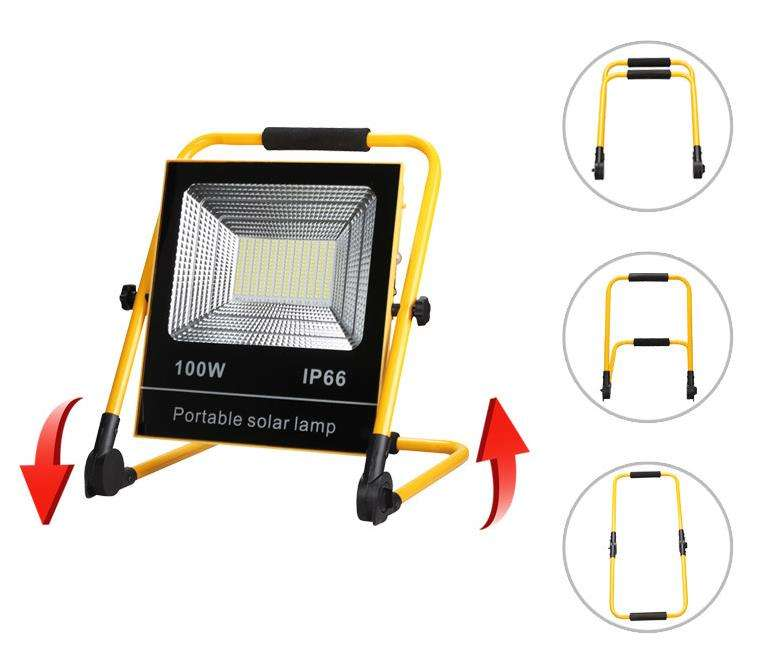KMG Hot sell durable 50W solar led flood light for outdoor garden