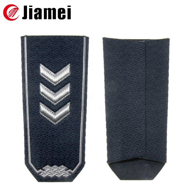 High quality military rank epaulette royal navy army shoulder boards us navy