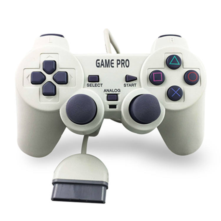 PS1 Gamepad Handle With Vibration Joystick