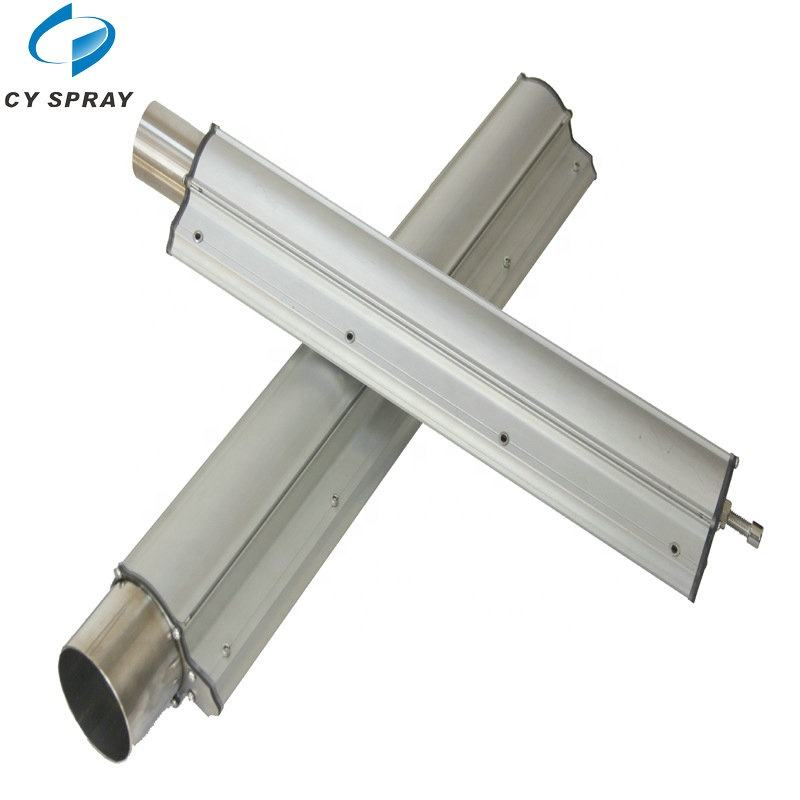 circuit boards, plating parts, film dryingQuick blow dry Aluminium compressed air knife wind jet nozzle