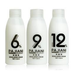 wholesale 120MLhair oxidant cream  salon use permanent color fragrant smell no ammonia hair developer
