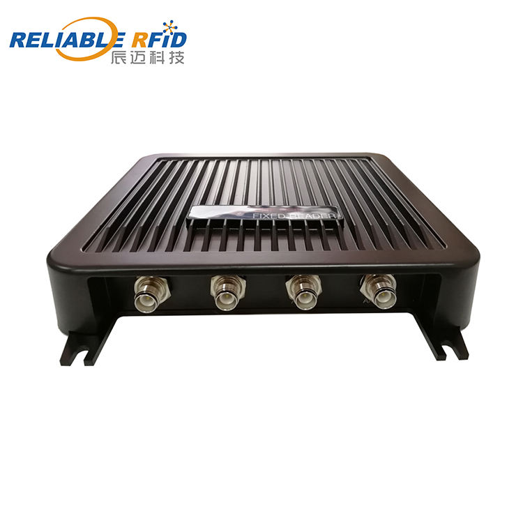 Reliablerfid 860-960MHz Public Library Entry Solution Impinj R2000 UHF RFID คงที่ Reader Plus RFID Linear เสาอากาศ