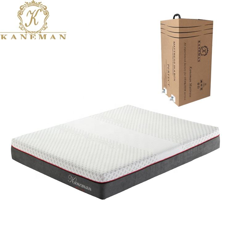 <span class=keywords><strong>Matelas</strong></span> de <span class=keywords><strong>mousse</strong></span> à <span class=keywords><strong>mémoire</strong></span> de forme en <span class=keywords><strong>Latex</strong></span>, 5x10 pouces, style naturel hybride