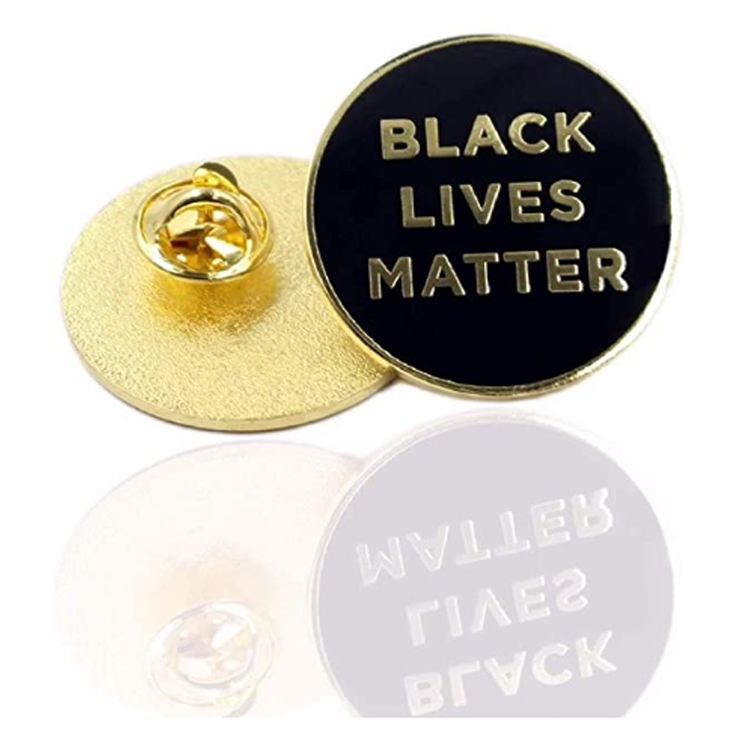 New Arrival Cheap Price Customized Enamel Black Lives Matter Lapel Pin Manufacturer From China