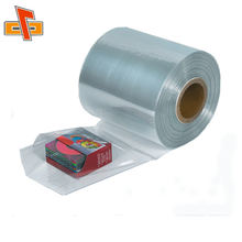 Hot selling PVC heat shrink bags/ thermo shrink film/shrink wrap bags for packing