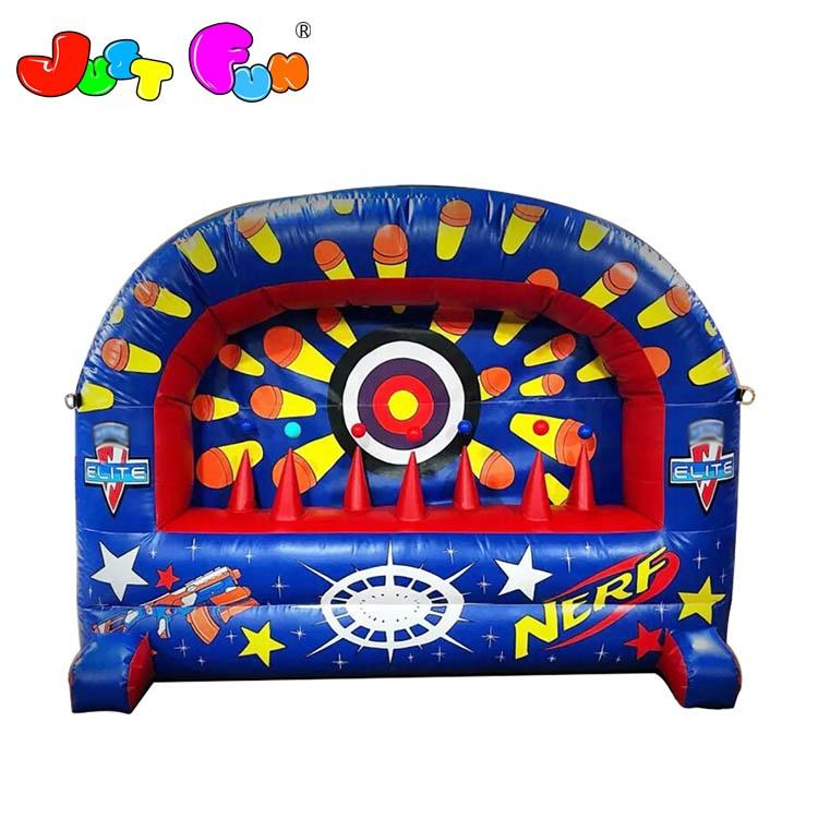 Inflable Nerf tiroteo juego