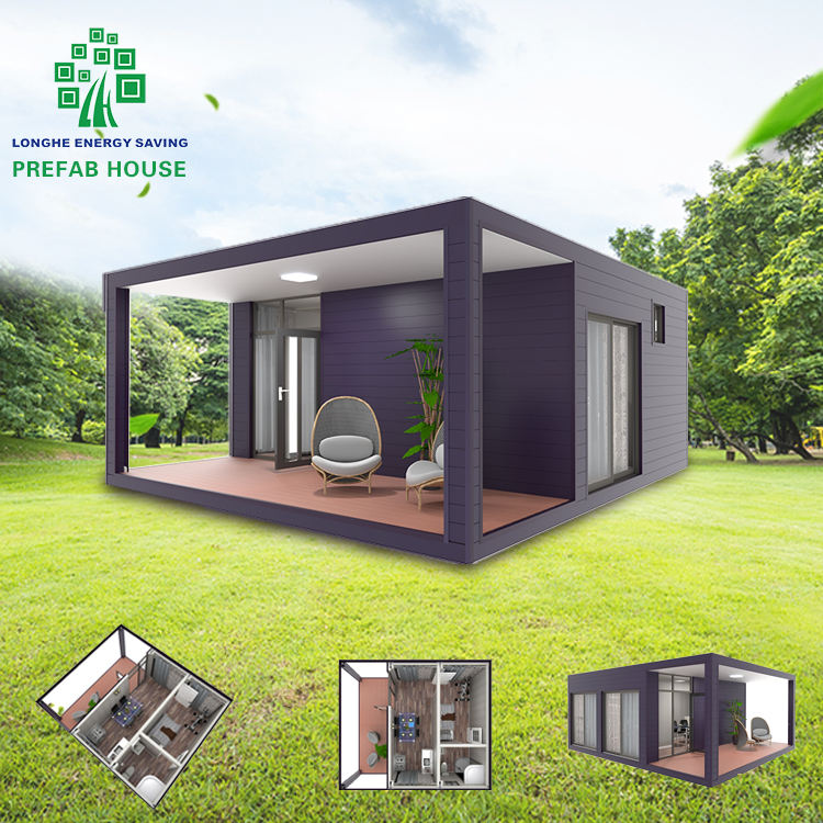 China Prefabricated Houses Large Prefab Homes Prefab Villa House Luxury