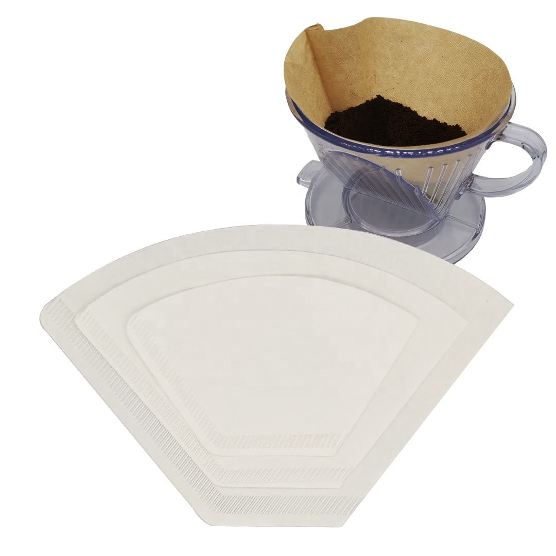40pcs/bag 102# 104# cafe coffee filter paper with best quality lowest price