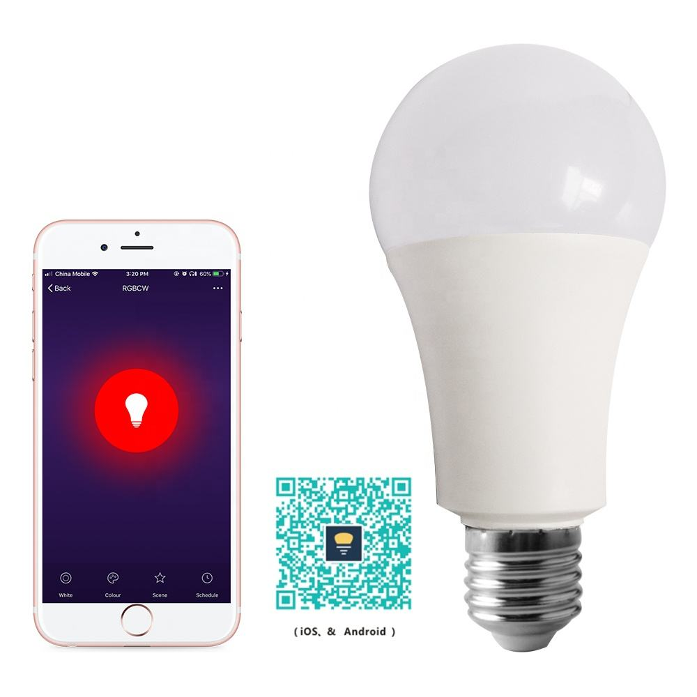 WIFI Constationg Current Driver LED 9w 100 TO 220V AC Input Smart Bulb Light