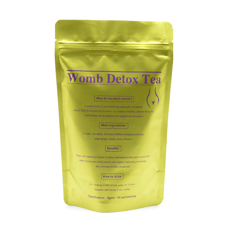 Hot Selling Private Label Warm Womb Infertility Tea for Irregular Menstruation
