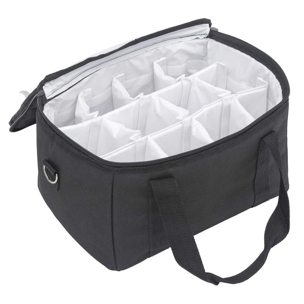 Cooler Bag Insulated Thermal CoffeeとBeverage Delivery Bag Carrier Sealed Liner 12 Way Divider