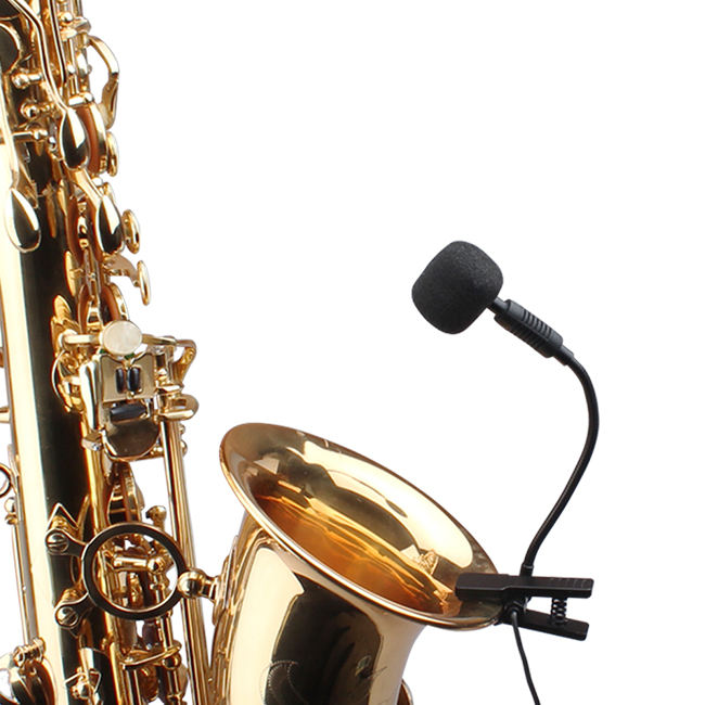 2020 Saxophone Microphone Instrument trumpet without Power Supply
