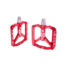 Fast delivery ENLEE Aluminium Alloy CNC Mountain Bike Steel Sealed Bearing Ultralight Anti-slip Bicycle Pedals