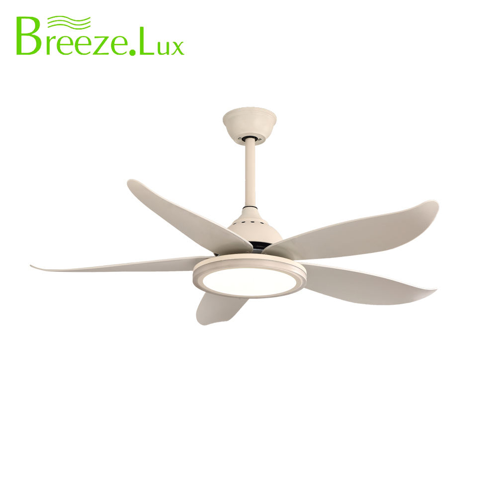 Contemporary Good quality 48 inch 5 blades ABS material bedroom decorative ceilling fan light