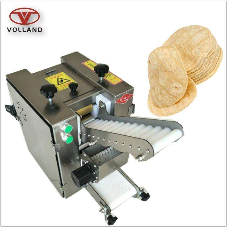 Draagbare roti maker/chapati making machine/tafelblad meel tortilla machine