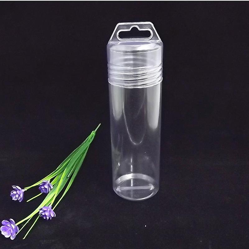 Matériaux biodégradables PVC Yu Mao Qiu Pince En Plastique Transparent Boîtes D'emballage Mâché Porte-Crayon 6-Pack