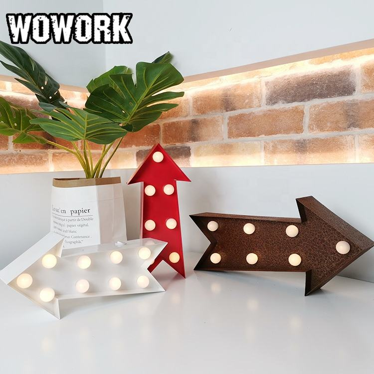 WOWORK battery operated arrow lamps for xmas decoration